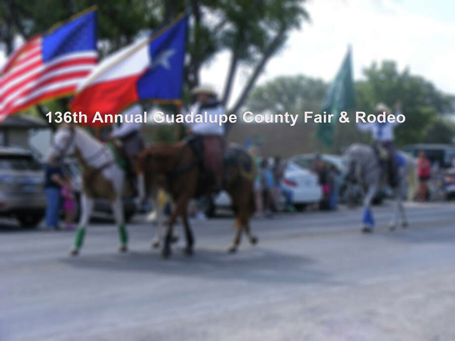 Check out what's happening this weekend at the 136th Annual Guadalupe County Fair and Rodeo Photo: No Credit
