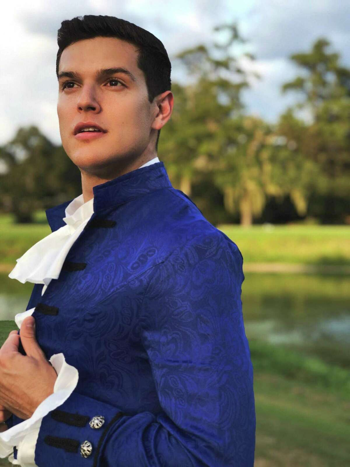 """Lucas Olivarez plays Prince Christopher in Stage Right's upcoming """"Cinderella"""" from Oct. 18 through Nov. 3 at the Crighton Theatre."""