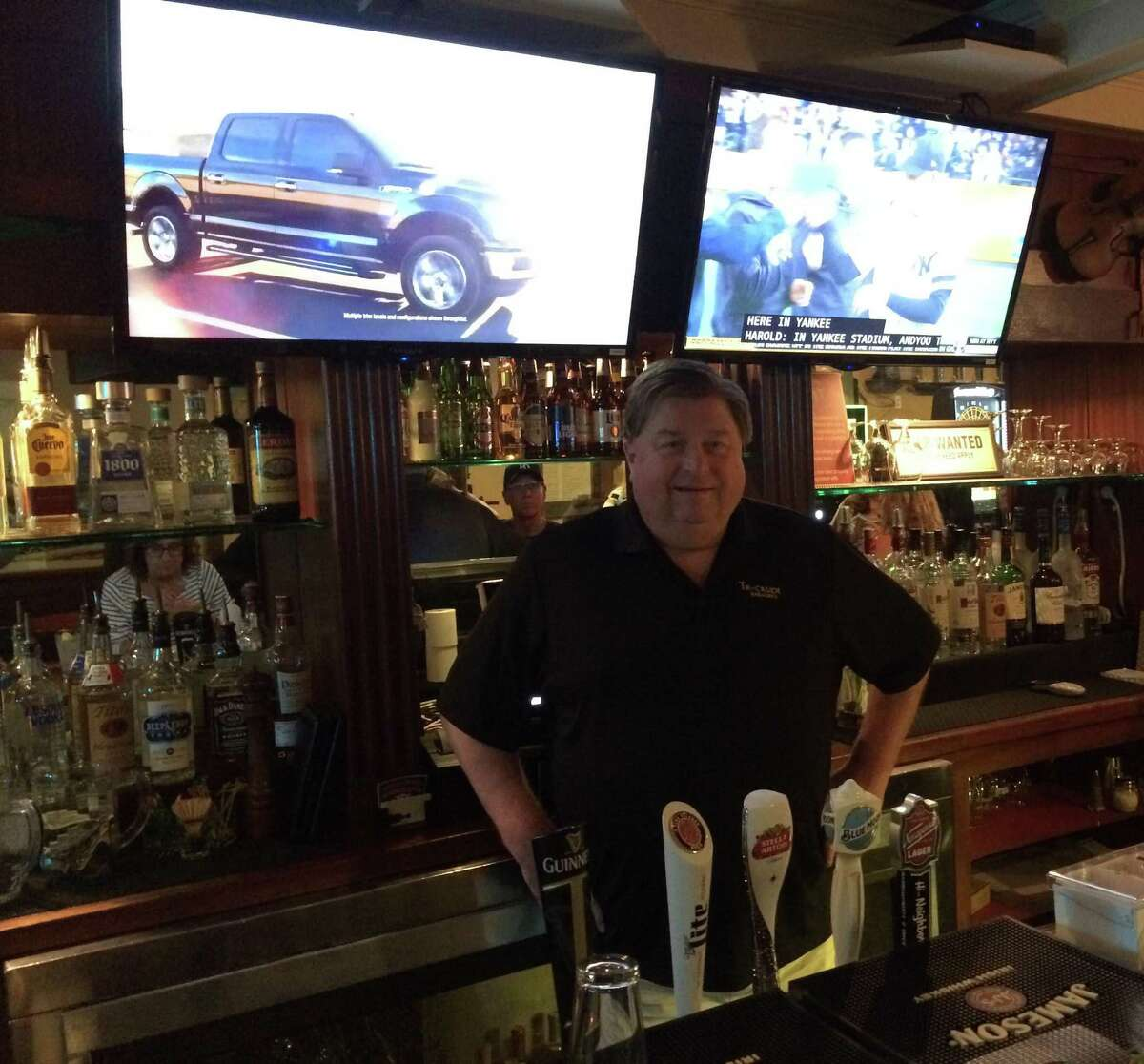 Joe Loughran is owner of the new Trackside Bar & Grill at 920 Hope St., in the Springdale section of Stamford, Conn.