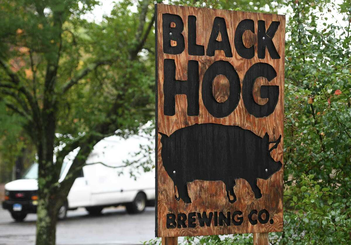 Black Hog Brewing at 115 Hurley Road, Building 9A, in Oxford, Conn. on Wednesday, October 9, 2019.