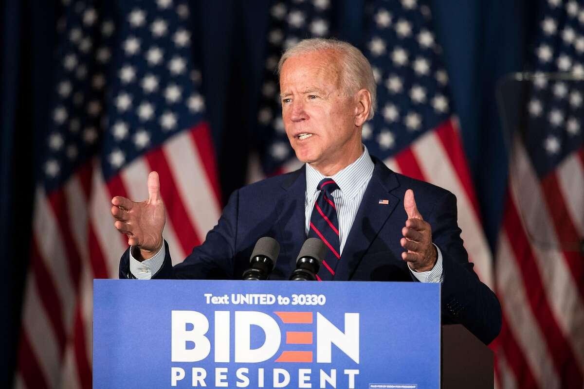 Joe Biden likens President Trump to Nazi propaganda minister Joseph Goebbels in a speech harshly condemning the president in Rochester, N.H.