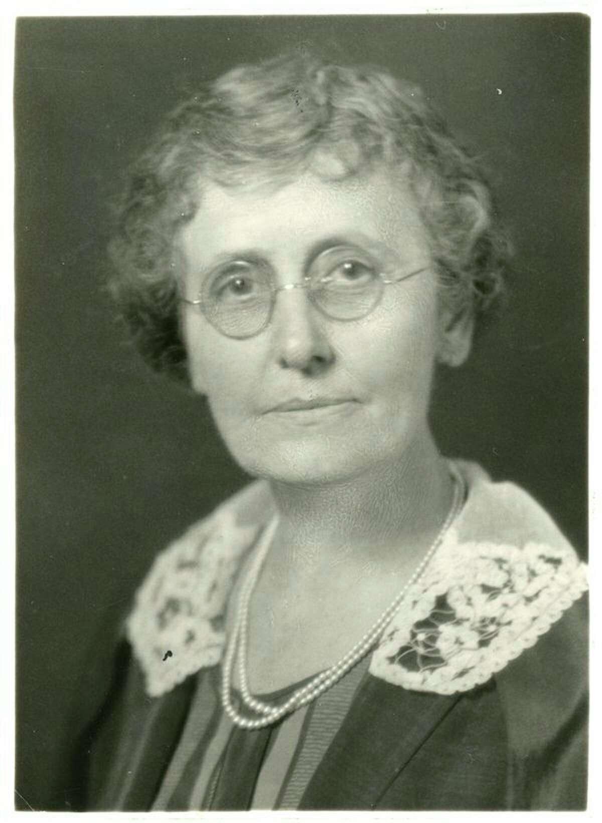 Louanna Baker (MCHS archive photo)