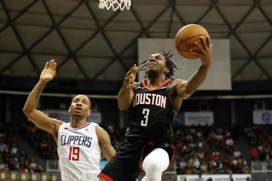 Rockets guard Chris Clemons (3) scored 15 points against the Clippers in a game last week in Hawaii. Photo: Marco Garcia, FRE / Associated Press / 2018 Copyright the Associated Press. All Rights Reserved.