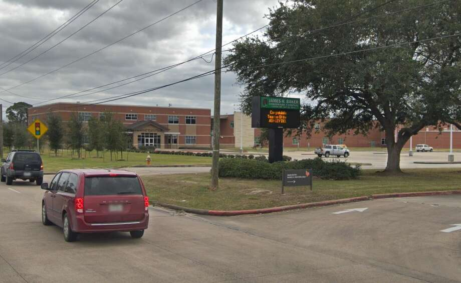 School officials at James H. Baker Sixth Grade Campus reported the incident around 9 a.m., and the arrest occurred after an investigation by the school resource officer, Boles said. Photo: Google Maps