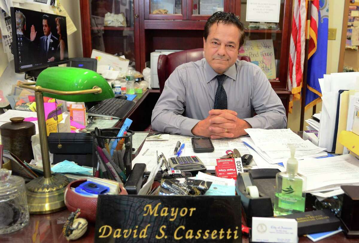 Mayor David Cassetti requested help from Derby Mayor Richard Dziekan when the CIAC expressed concern that Ansonia's football field may not be playable Tuesday because of the predicted wintry weather.