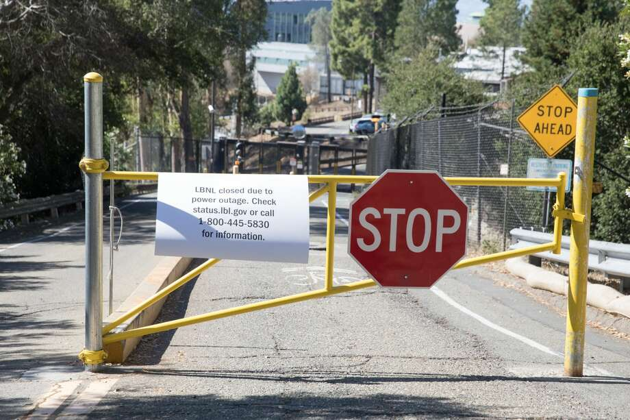 The Lawrence Berkeley Laboratories in Berkeley were closed in preparation for planned PG&E power shutoffs on Wednesday, Oct. 9, 2019. Photo: Douglas Zimmerman/SFGate.com