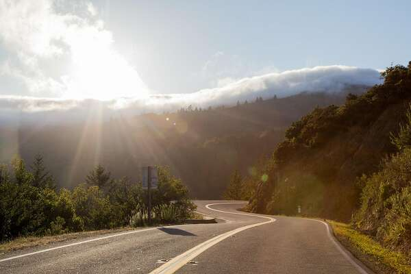 Rangers closed the Panoramic Highway to all vehicles at Mount Tamalpais State Park during the red flag warning in Marin County