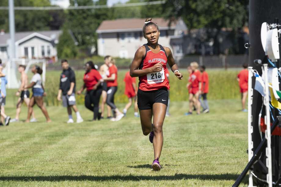 "Guilderland High School graduate Jazmine ""Jazz"" Roberts of the Plattsburgh women's cross country team. (Courtesy of Plattsburgh Athletics) Photo: Courtesy Of Plattsburgh Athletics"