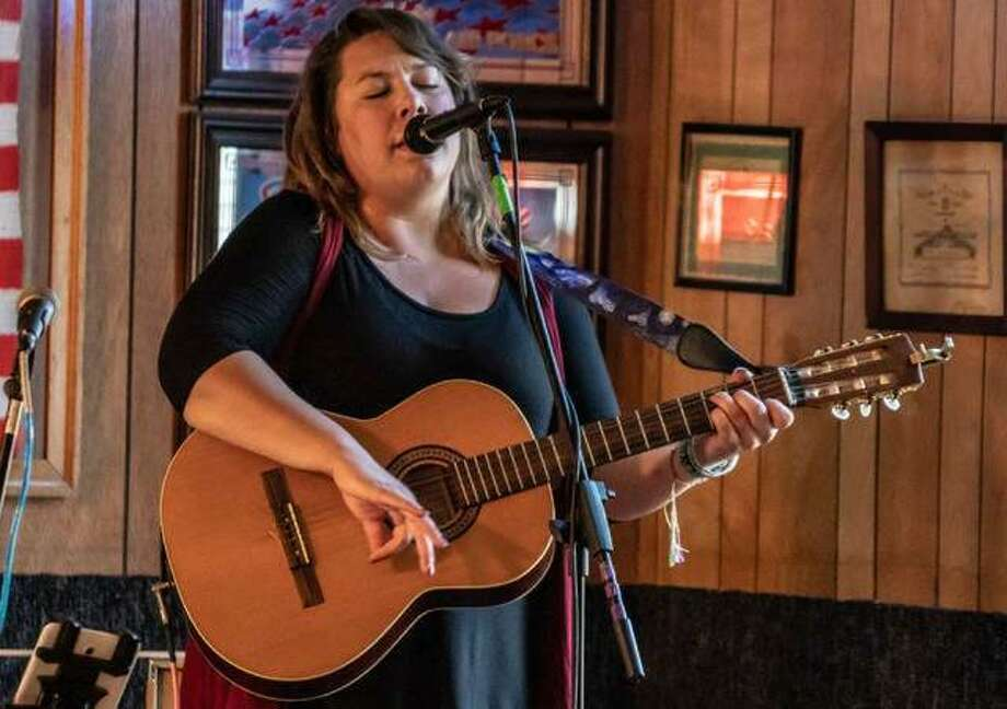 Erin Jo Paddlefoot performs at a previous BushFest in Cottage Hills. On Saturday, she'll be performing with her country folk band The Dead Roses. Photo: Nathan Woodside,  Telegraph File Photo