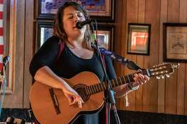 Erin Jo Paddlefoot performs at a previous BushFest in Cottage Hills. On Saturday, she'll be performing with her country folk band The Dead Roses.