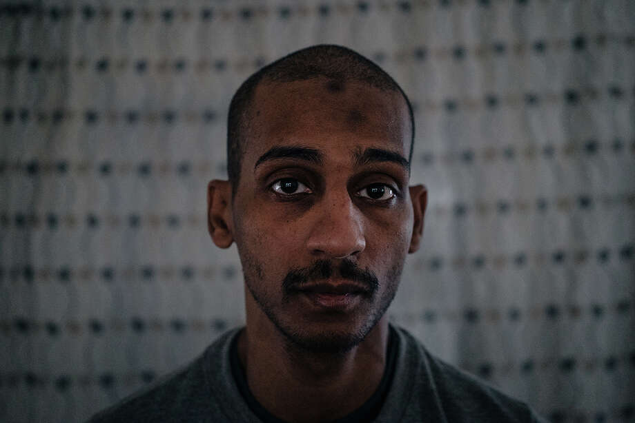 El Shafee Elsheikh, one of two detained British men accused of involvement in the Islamic State's summary executions of Western hostages, photographed in a detention center in Rmeilan, Syria, on Aug. 4. Photo: Photo For The Washington Post By Alice Martins / For The Washington Post