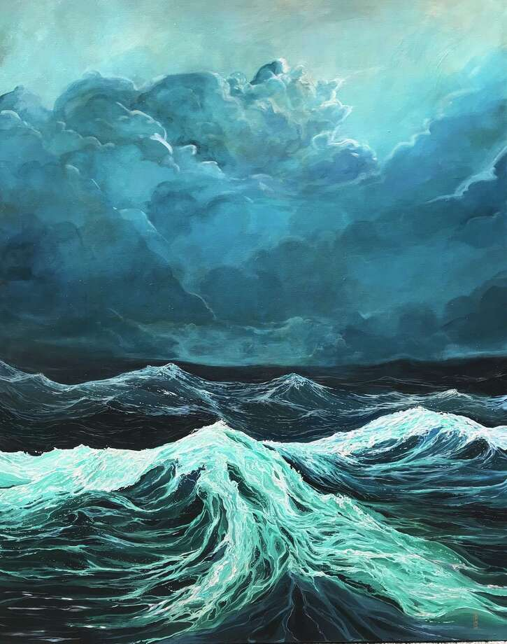 "The Loft Gallery at The Smithy in New Preston is presenting a show, ""Clouds + Currents,"" through Oct. 27. The show features works by Alissa Morabito of New Milford, whose work is shown above. Photo: Courtesy Of The Loft Gallery / The News-Times Contributed"