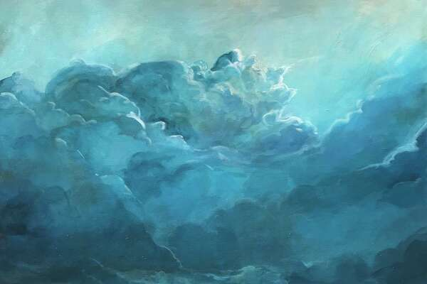 """The Loft Gallery at The Smithy in New Preston is presenting a show, """"Clouds + Currents,"""" through Oct. 27. The show features works by Alissa Morabito of New Milford, whose work is shown above."""