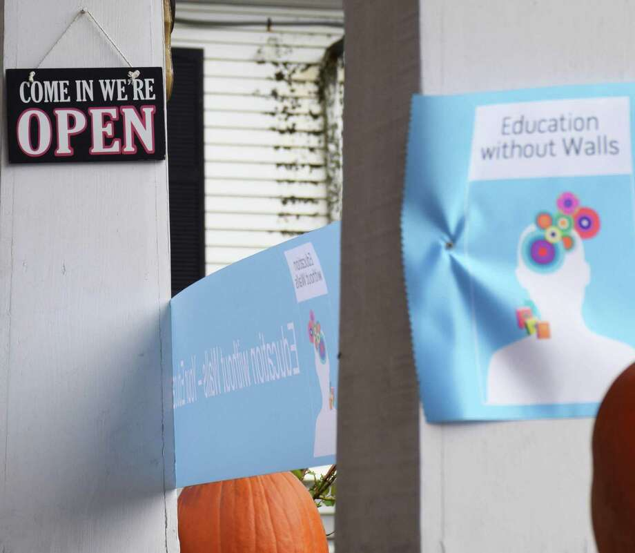 Spectrum/Education without Walls in New Milford held a ribbon-cutting ceremony Oct. 4, 2019 at its new home, 65 Bridge St. Photo: Deborah Rose / Hearst Connecticut Media / The News-Times  / Spectrum