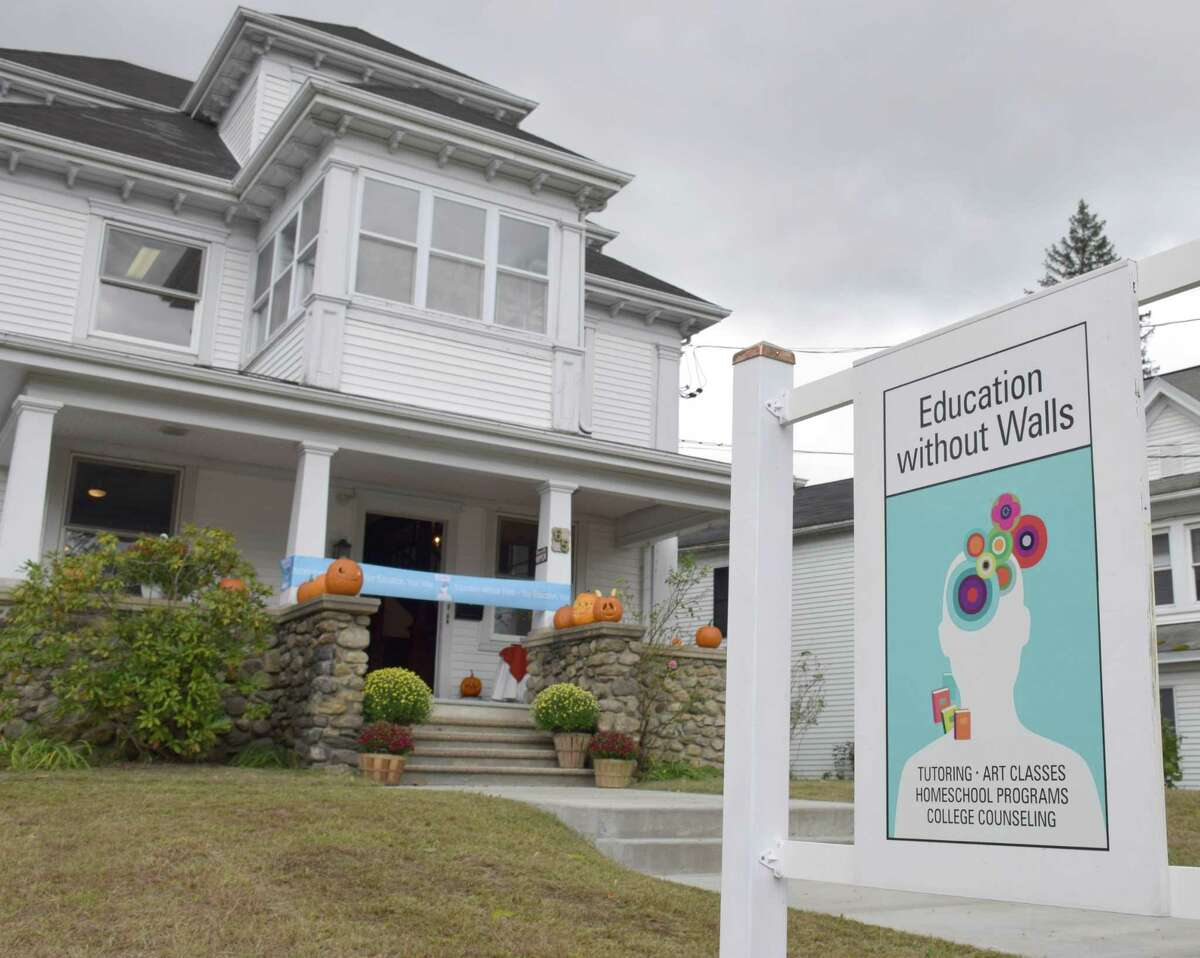 Education without Walls in New Milford has a new home, 65 Bridge St. in New Milford.