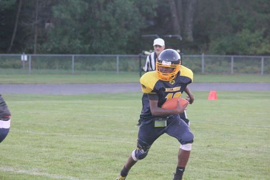 Baldwin's Carmelo Lindsey has been basically a running quarterback. (Star photo/John Raffel)
