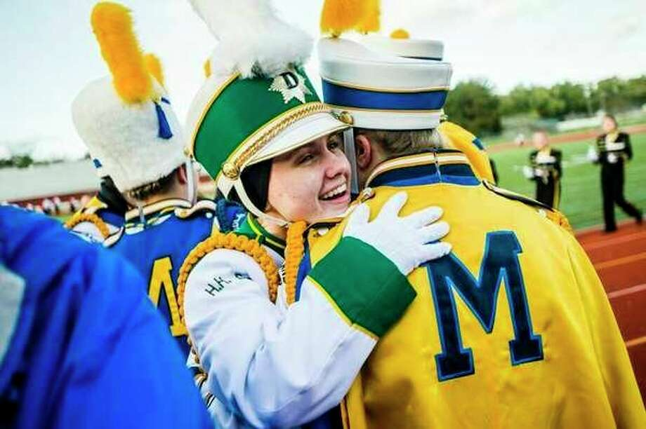 Wednesday, Oct. 16: Marching Band Showcase begins at 5:30 at Midland Community Stadium on Washington Street in Midland (at Midland High School). Area high school bands will perform through 9 p.m. (Daily News file photo)