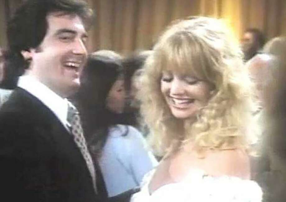 "Robert Hanley in a scene with Goldie Hawn in ""Private Benjamin."" Photo: Contributed Photo"