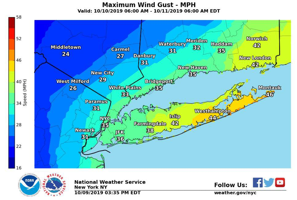Nor'easter brings another day of rain, strong winds
