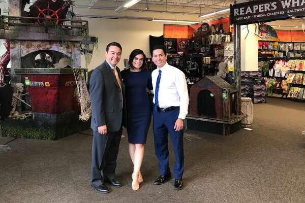 Meet Fox News at Nine anchors Ryan Wolf, Camilla Rambaldi and chief meteorologist Alex Garcia at the 'Tacos or Treats Halloween Eve Bash' on October 30.