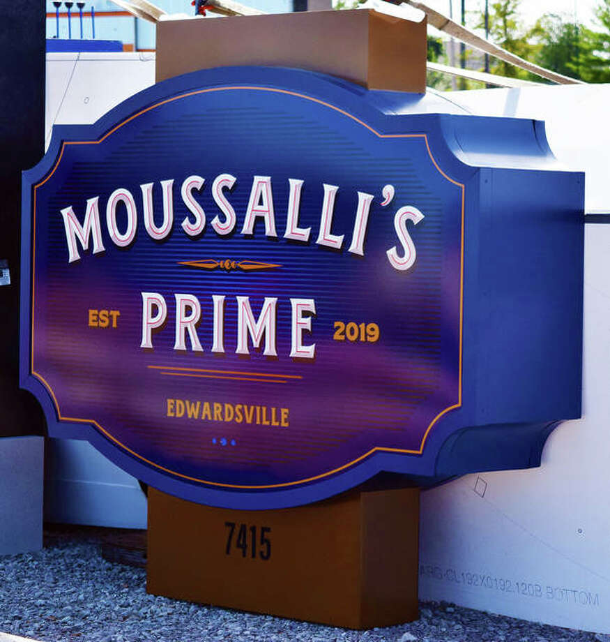 The new outdoor sign for the restaurant. This sign is currently in the ground at the site. Photo: Tyler Pletsch | The Intelligencer