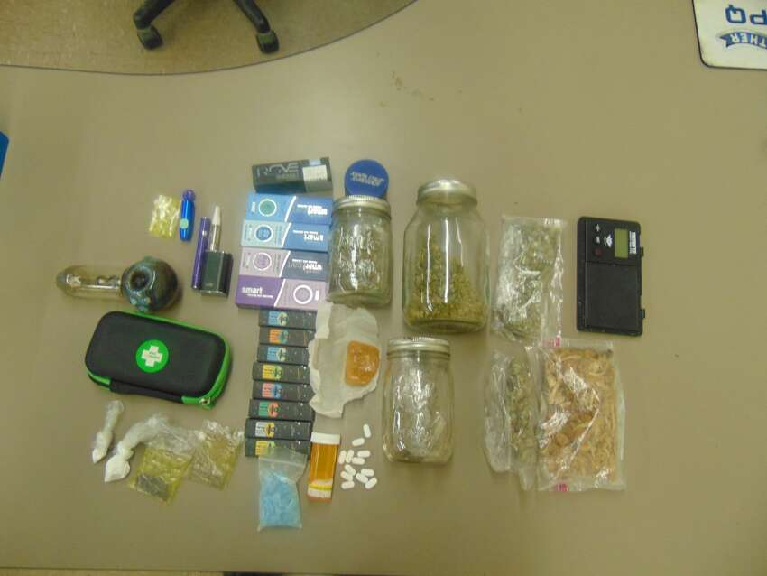The drugs that Albany County Sheriff deputies say they recovered from Robert Witt's vehicle.