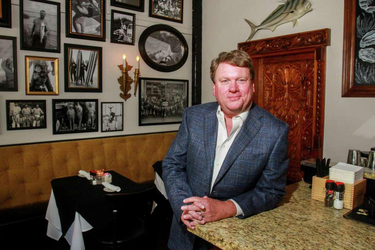 Owner Kyle Teas at Eugene's Gulf Coast Cuisine.