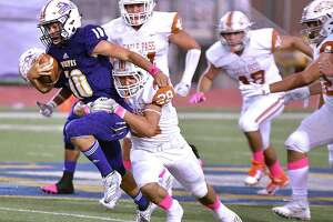 Luis Segura ran for 120 yards in LBJ's 36-10 loss to Eagle Pass last week.