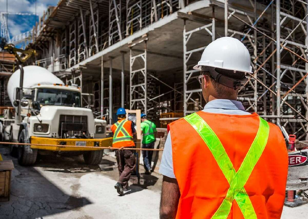 #50. Construction laborers - 'Job misery' index: 79.9 - Median pay: $33,100 - 'High meaning' score: 46% - 'High satisfaction' score: 51% Construction laborers?perform?the physical labor at construction sites. Widely?considered a dangerous job, it can subject workers to falls from great heights, trench and scaffolding collapses, electric shock, equipment accidents, repetitive motion injuries, and personally?inflicted injuries from failure to properly use protective equipment.