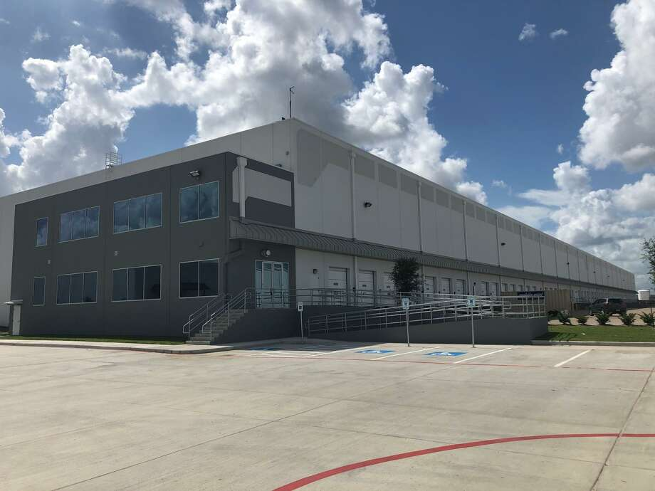 COE Distributing, a nationwide wholesale distributor of office furniture, leased 251,754 square feet at Highland Grove Industrial Park, 10620 Telge Road, in northwest Houston. Photo: Colliers International