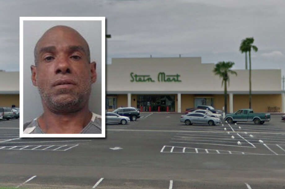 A man landed behind bars Monday for breaking into Stein Mart on 4601 San Dario Ave., according to Laredo police. Photo: Courtesy