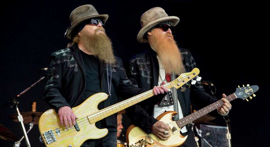 ZZ Top will play the San Antonio Rodeo on Valentine's Day. Photo: Jonathan Short /AP / 2016 Invision
