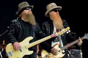 ZZ Top will play the San Antonio Rodeo on Valentine's Day.