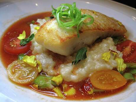 Mako's on the Creek kept the dishes that showed promise, including seared halibut in charred tomato broth with snow peas and couscous.