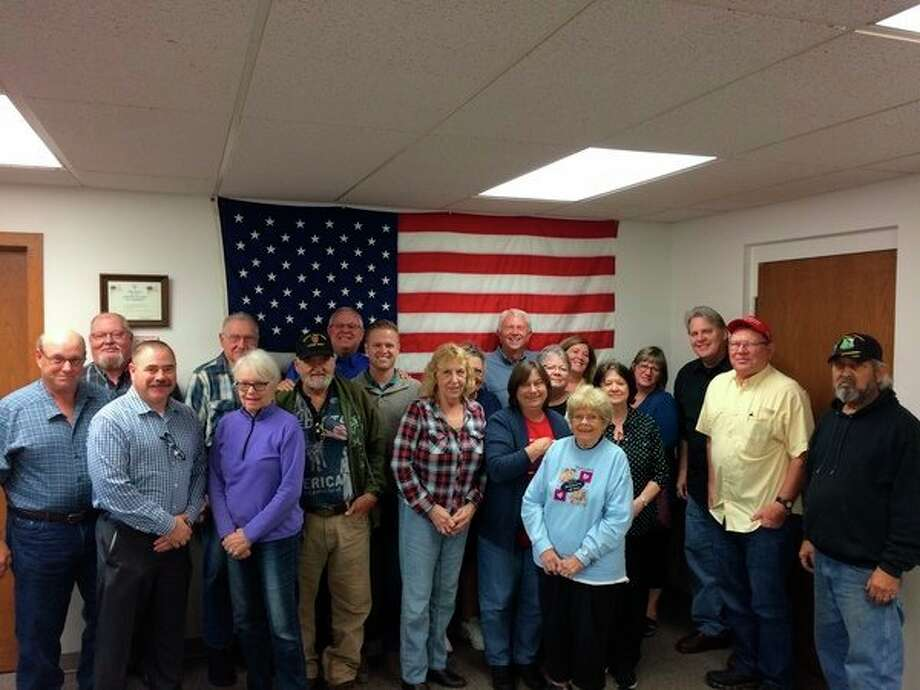 Sen. Jack Bergman joined the Benzie County Republican Party during a round table discussion on Oct. 7. (Courtesy Photo)