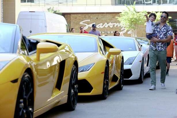Annual Lamborghini Festival at CityCentre.
