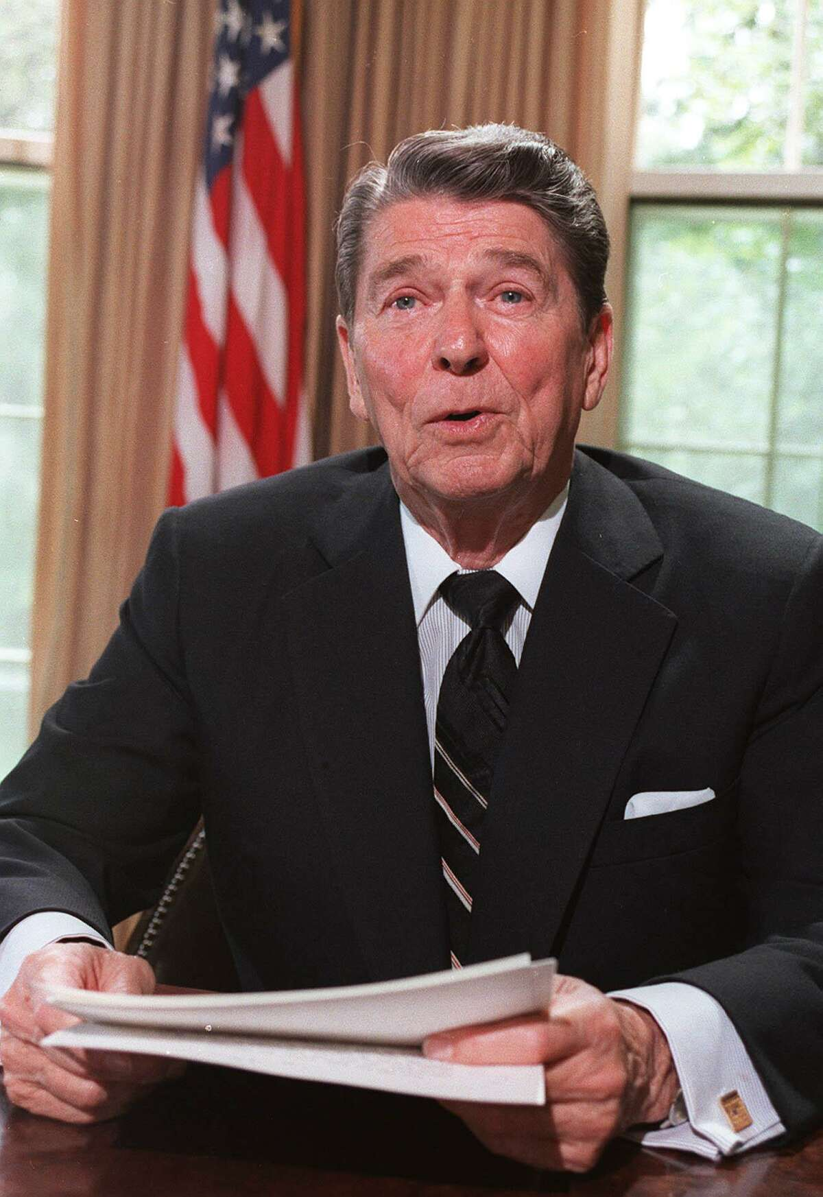 Republicans have turned Ronald Reagan into an icon, portraying him as the savior of a desperate, declining nation. Mostly, however, this is just propaganda.