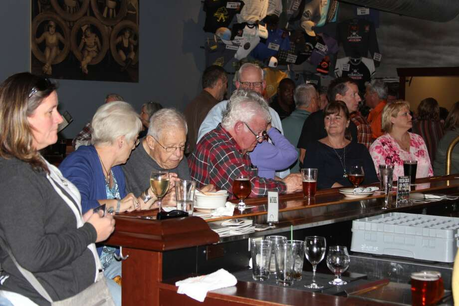 The Benzie and Frankfort Rotary clubs hosted the Pints for Polio fundraiser at Stormcloud Brewing Compnay's downtown Frankfort pub during Frankfort Beer Week. Photo: (Photo/Colin Merry)