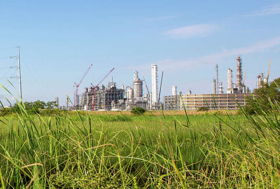 There will be noticeable activity at the BASF Total plant in Port Arthur during October, including emergency vehicles and helicopters, as the company conducts training exercises through the month. Photo: Courtesy Of BASF TOTAL