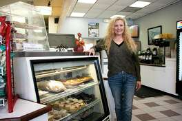 Vickie Andrews co-owns Kingwood Bagel and Sandwich Shop with her husband Robert.