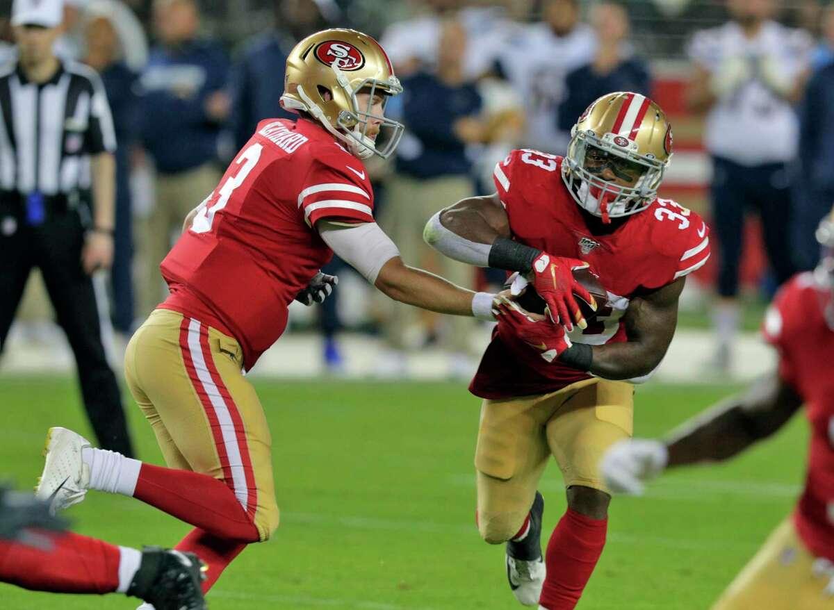 L.A. Rams plus-6 ½ at San Francisco 49ers 27-17
