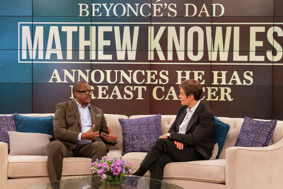 On the Dr. Oz Show, Beyoncé's father opens up about his shocking diagnosis, the drastic steps he's taking towards treatment and what his daughters are doing to reduce their risk. Photo: Sony Pictures Television / Copyright 2017 Sony Pictures Television  Sony Pictures Television