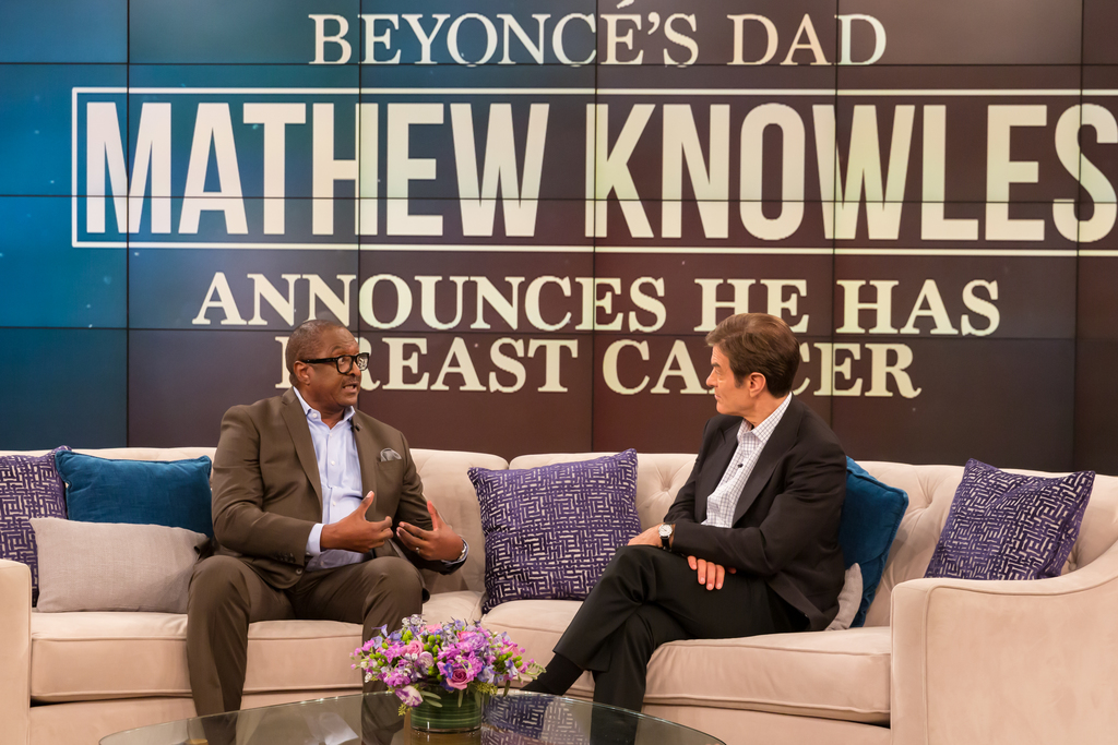 Watch Matthew Knowles Reveals How He Told Beyonce And Solange He Had Breast Cancer Houstonchronicle Com