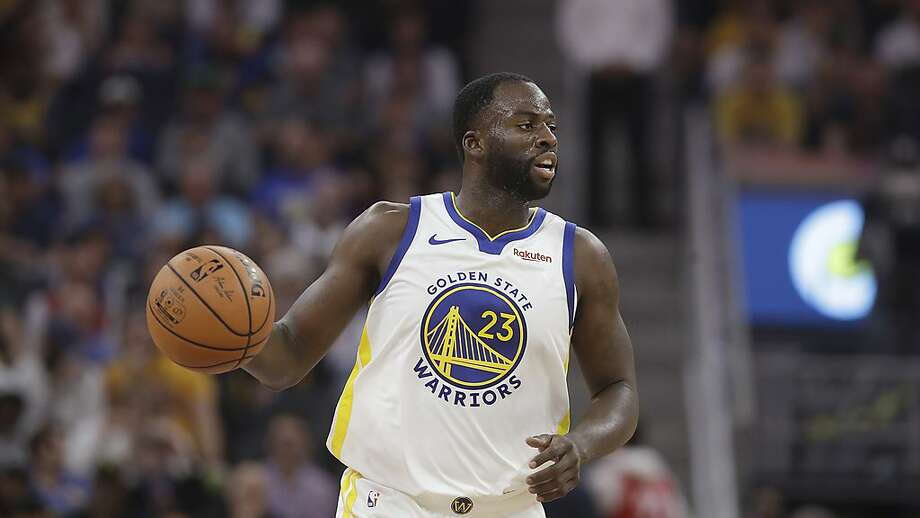 Golden State Warriors forward Draymond Green (23) against the Los Angeles Lakers during a preseason NBA basketball game in San Francisco, Saturday, Oct. 5, 2019. (AP Photo/Jeff Chiu) Photo: Jeff Chiu / Associated Press