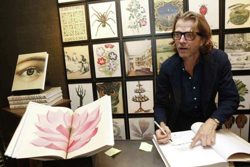 John Derian attends Bergdorf Goodman Celebrates The Launch Of John Derian Picture Book In NYC on September 28, 2016. (Photo by Thos Robinson/Getty Images for Artisan Books)