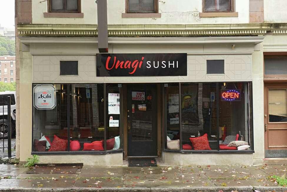Exterior of Unagi Sushi on Wednesday, Oct. 2, 2019 in Troy, N.Y. (Lori Van Buren/Times Union)