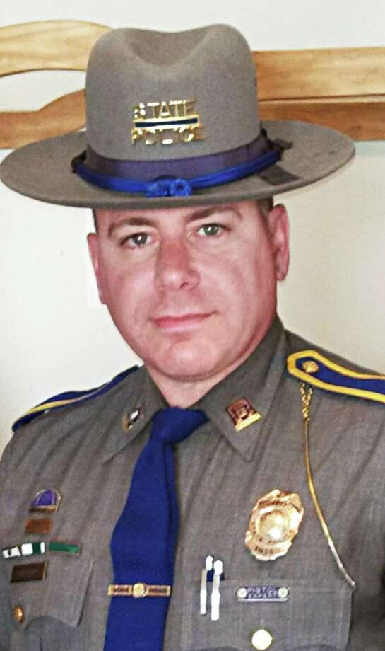 Former state trooper Enrico Milardo retired from service Oct. 1. He took a part-time job as a constable, working for the town of Westbrook. Photo: Contributed Photo
