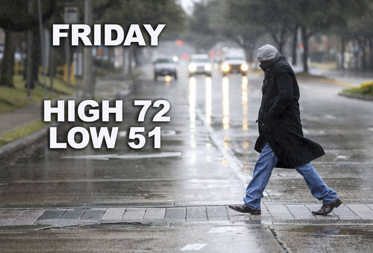 San Antonio will experience a strong cold front on Friday, according to forecasters. But don't get used to the cooler temperatures just yet.