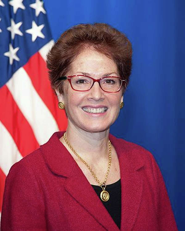 Marie Yovanovitch of Kent was U.S. Ambassador to Ukraine.