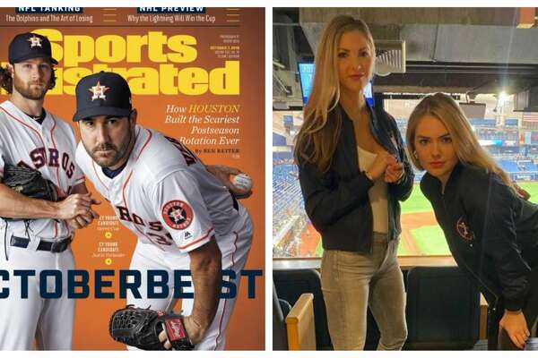 Astros pitchers, Justin Verlander and Gerrit Cole, took center stage with their iconic Sports Illustrated Cover this month, but their wives are now making headlines with this Instagram post.
